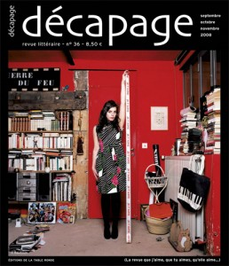 Décapage, photo de Baudoin, septembre 2008